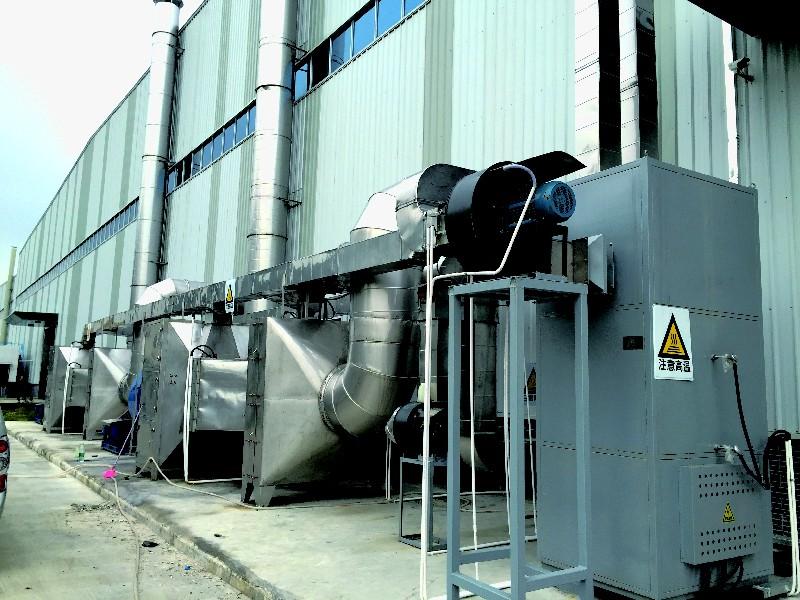 废气处理(活性炭吸附脱附-催化燃烧装置)