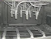 输送式喷砂机