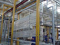 铝型材卧式粉末喷涂线