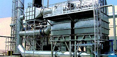 废气处理(蓄热式热力焚化炉(RTO)